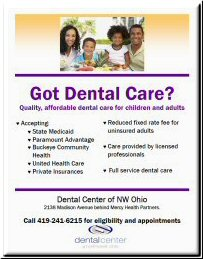 Got Dental Care Flyer