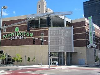 Huntington Center Main Entrance