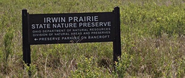 Irwin Prairie Sign