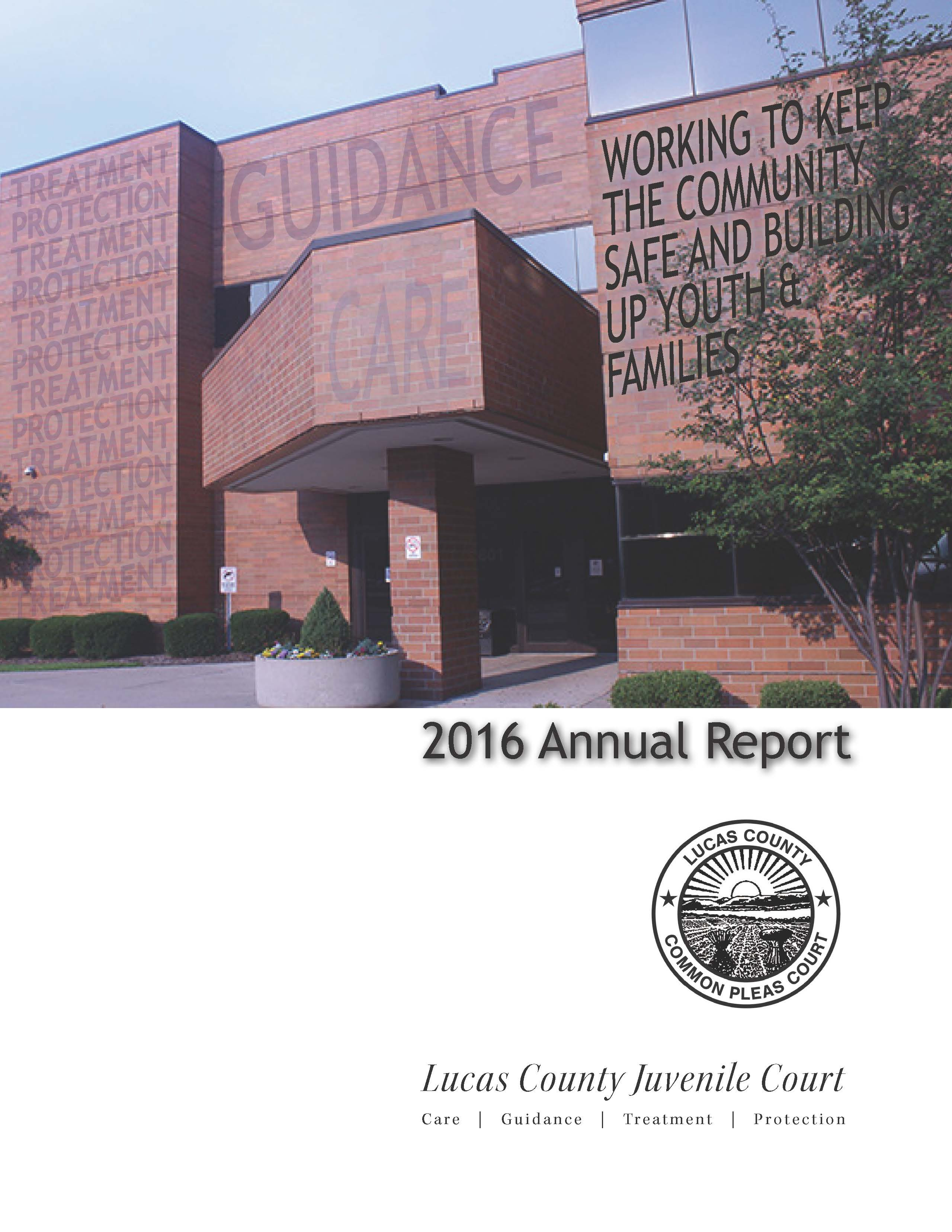 2016 LCJC Annual Report cover