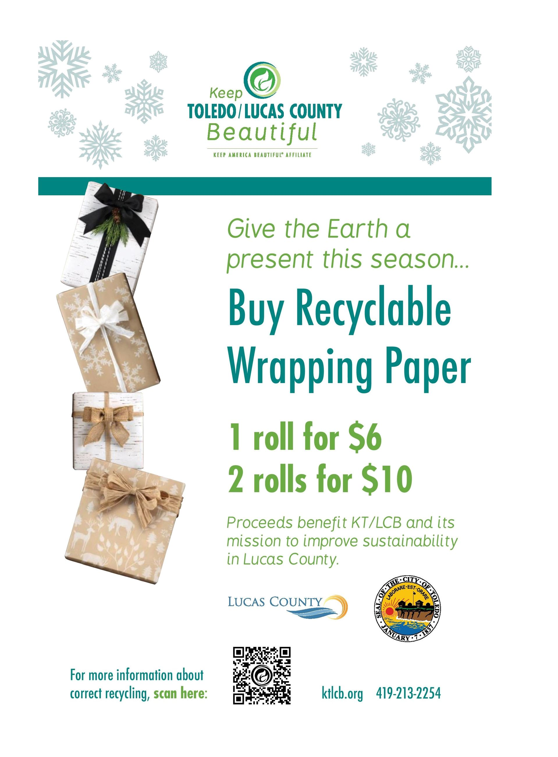 Recyclable Wrapping Poster
