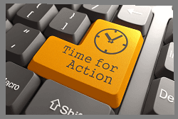 Time For Action Keyboard Button