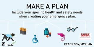 Make a plan access and functional needs