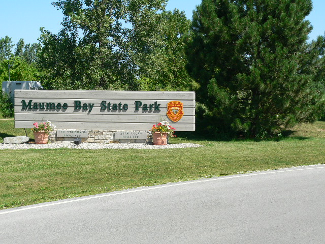 Entrance to one of Lucas County State Parks