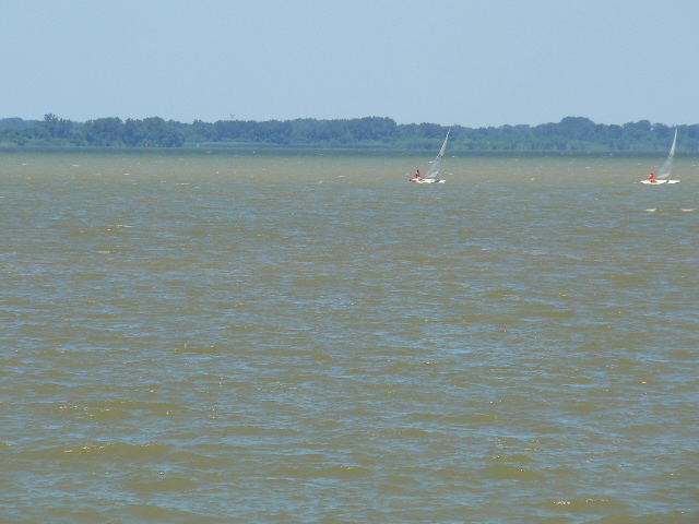 Sailing on the Lake Erie