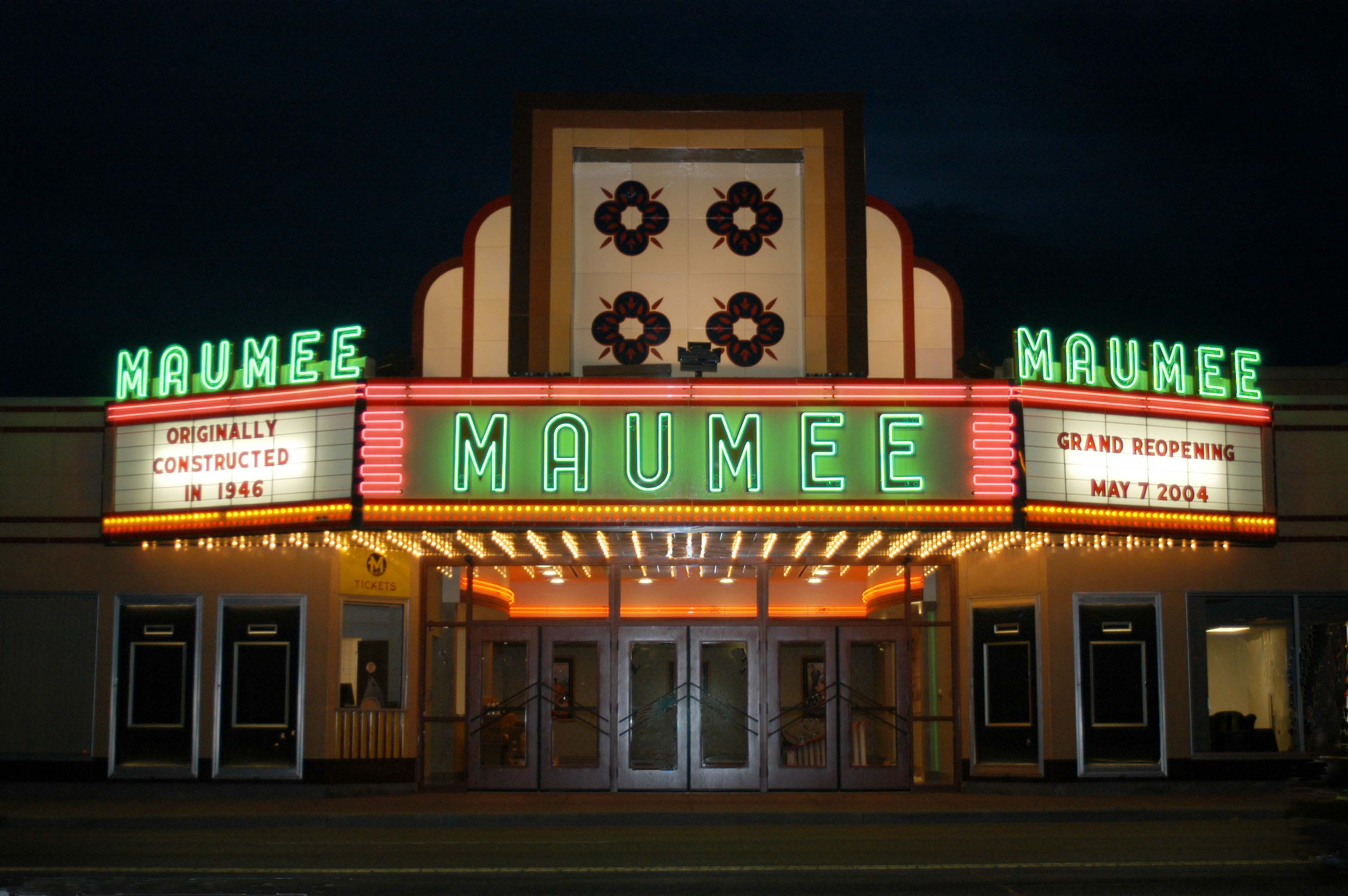 Maumee Indoor Theater Facade