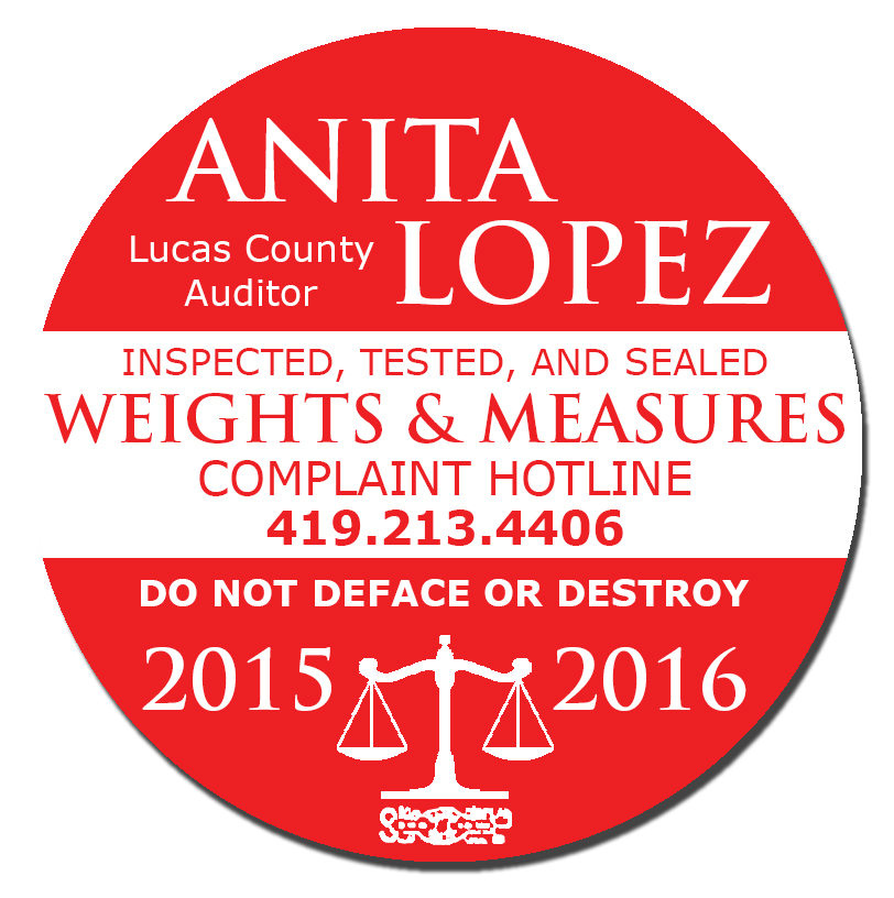 2015 2016 Weights and Measures seal