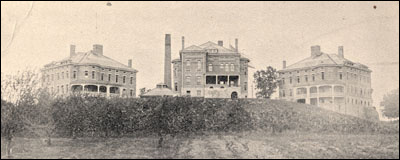 Lucas County Children's Home in 1896